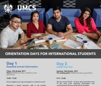 Orientation for International Students 13-14.10.2017