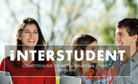 Interstudent 2017 competition is now open for entries