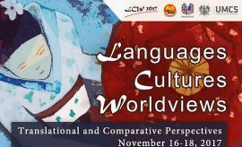 "Konferencja ""Languages - Cultures - Worldviews"""