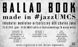 Koncert: Ballad Book Made in #jazzUMCS