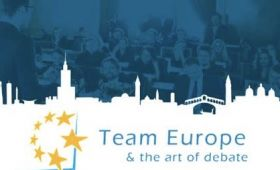Team Europe & the art of debate - Final Debate in...