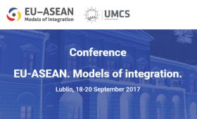 "Conference ""EU-ASEAN. Models of integration"""