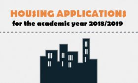 Accommodation applications are now open for 2018/19