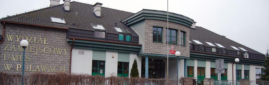Witamy na Wydziale Zamiejscowym UMCS w Puławach