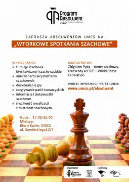 Spotkania szachowe w Programie Absolwent UMCS.