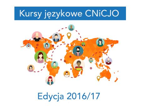 Kursy językowe w semestrze 2016/17 w CNiCJO UMCS