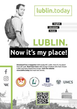 E-magazine lublin.today #3: Lublin. Now it's my place!