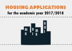 Accommodation applications are now open for 2017/18