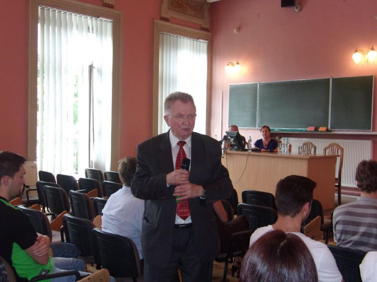 Prof. Longin Pastusiak hosted by Lublin Chapter of Polish...