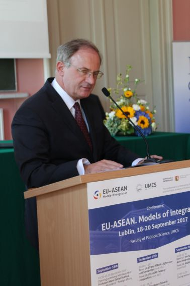 """EU-ASEAN. Models of integration"" – relacja z..."