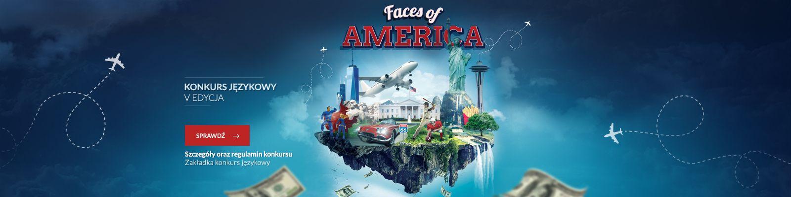 Faces of America - weź udział w konkursie!