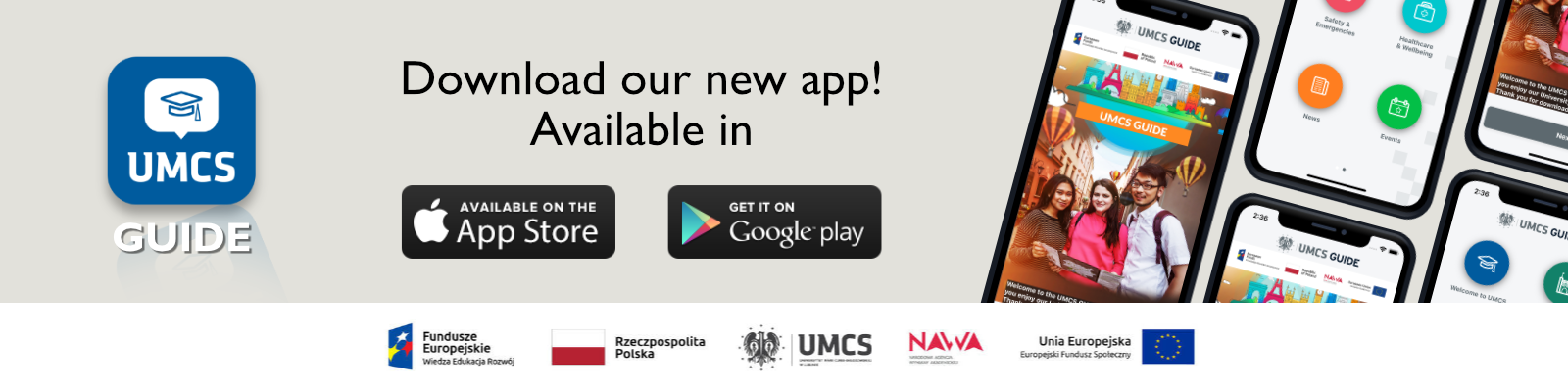 Download the UMCS Guide! The newest mobile app!