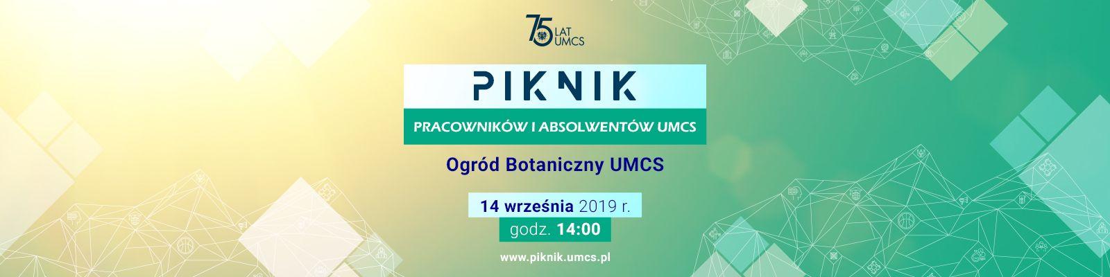 Zapraszamy na Piknik Pracowników i Absolwentów UMCS 2019