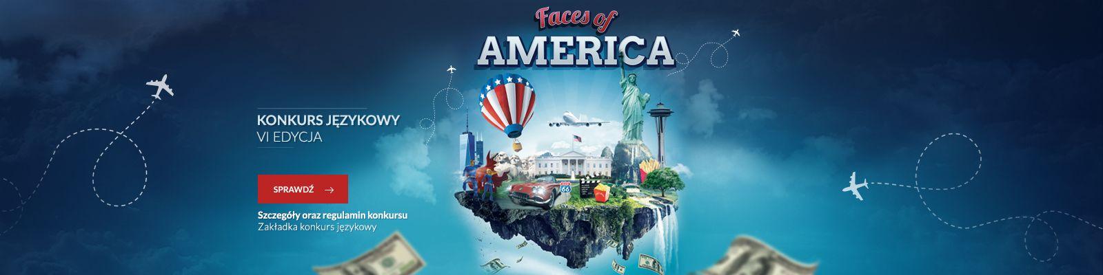 "Konkurs Językowy ""Faces of America"" 2020"