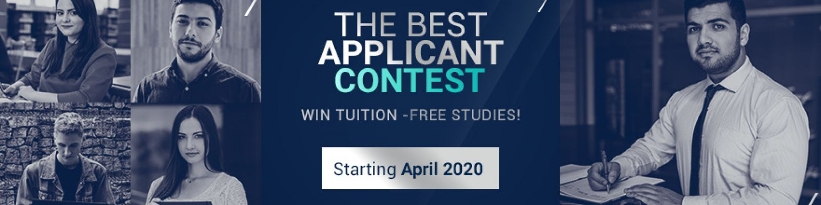 The Best Applicants Contest. Win tuition-free studies!