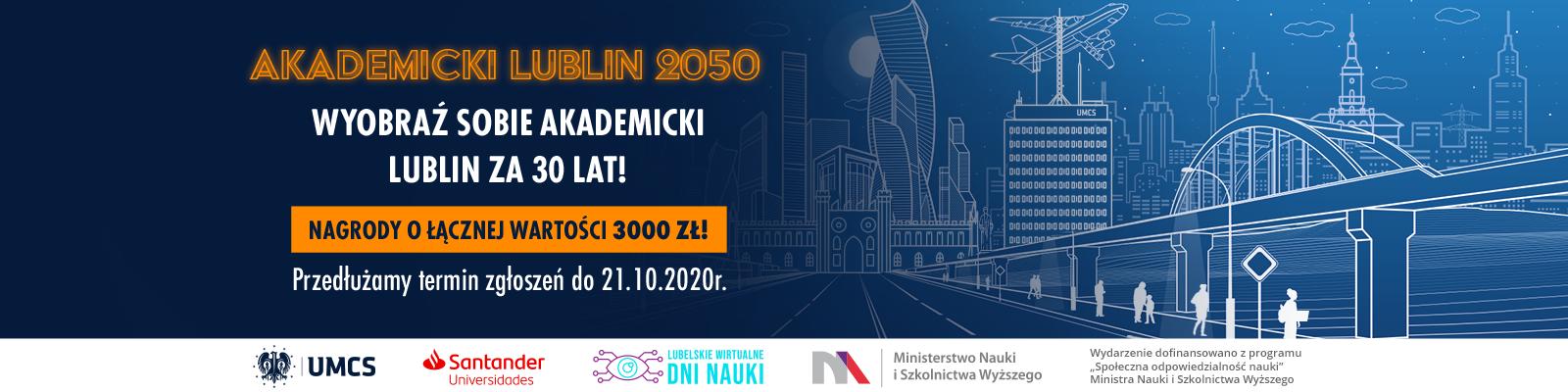 "Konkurs ""Akademicki Lublin 2050"""