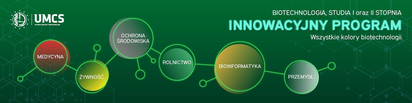 Biotechnologia - innowacyjny program studiów