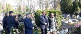 Cmentarz na ul. Lipowej - złożenie wieńców przez władze i...