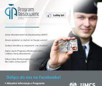 500. osoba polubiła Program Absolwent UMCS na Facebooku!