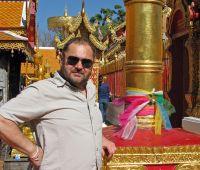 Wizyta prof. Artura Popka w Chiang Mai