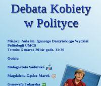 Debata Kobiety w Polityce
