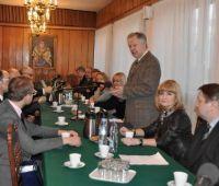 Spotkanie JM Rektora UMCS z radnymi Lublina