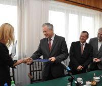 Podpisanie umowy z firmą Boryszew Erg SA