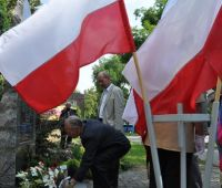 Uroczystości upamiętniające 72. rocznicę mordu na...