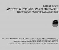 Robert Rabiej wystawia w lubelskiej Zachęcie