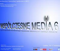 Konferencja naukowa: Współczesne Media