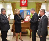 """""""Lubelski Orzeł Biznesu 2012"""" dla Uniwersytetu Marii..."""