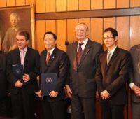 Podpisanie umowy pomiędzy UMCS a Uniwersytetem Guangdong...