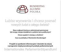 Internationales Parlaments-Stipendium - zaproszenie na...