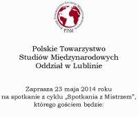 """""""Spotkania z Mistrzem"""": Prof. dr hab. Roman Kuźniar"""