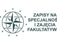 Zapisy na specjalności i zajęcia fakultatywne 2014/15