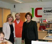 Wizyta dyrektor Instytutu Camõesa z Lizbony - prof. Ana...