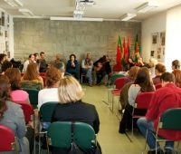 Członkowie teatru Acta a Companhia de Teatro do Algarve...