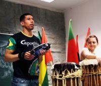 """Encontro: """"Eu Sou Capoeira - música, dança, luta"""""""