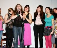 "Espetáculo do grupo teatral ""Pisca-Pisca"" da..."