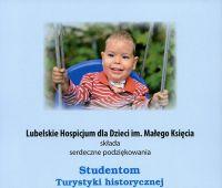 Podziękowania dla naszych studentów od Lubelskiego...