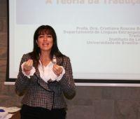 Palestras da Doutora Cristiane Roscoe Bessa sobre tradução