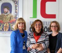 Visita da Professora Doutora Hanna Batoréo da...