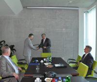 Podpisanie porozumienia z firmą Lubelski Węgiel...