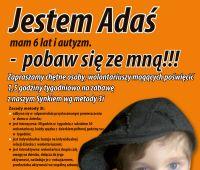 Wolontariat dla Adasia Wachowicza
