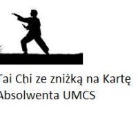 Treningi Tai Chi ze zniżką dla absolwentów UMCS