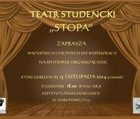 Nabór do Teatru Studenckiego STOPA