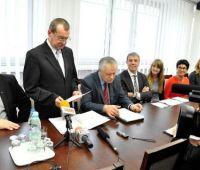 Relacja z podpisania deklaracji współpracy z GE Healthcare