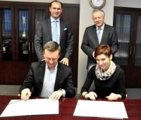 """Договір між UMCS i """"Herbapol-Lublin"""" S.A."""