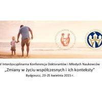Konferencja: Zmiany w życiu współczesnych i ich konteksty
