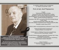Zmarł Prof. dr hab. Józef Wojtanowicz